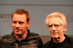 Michael Fassbender and David Cronenberg