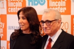 George Harrison's widow Olivia with director Martin Scorsese